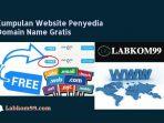 Kumpulan Website Penyedia Domain Name Gratis