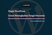 Plugin Search WordPress Untuk Meningkatkan Fungsi Pencarian