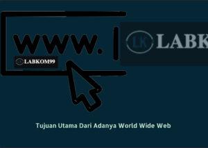 Tujuan Utama Dari Adanya World Wide Web Dan Cara Kerjanya