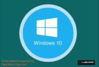 6 Folder Default Windows 10 Yang Tidak Boleh di Hapus