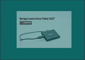 Berapa Lama Umur Pakai SSD? Waspada Kehilangan Data