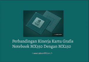 Perbandingan Kinerja Kartu Grafis Notebook MX350 Dan MX250