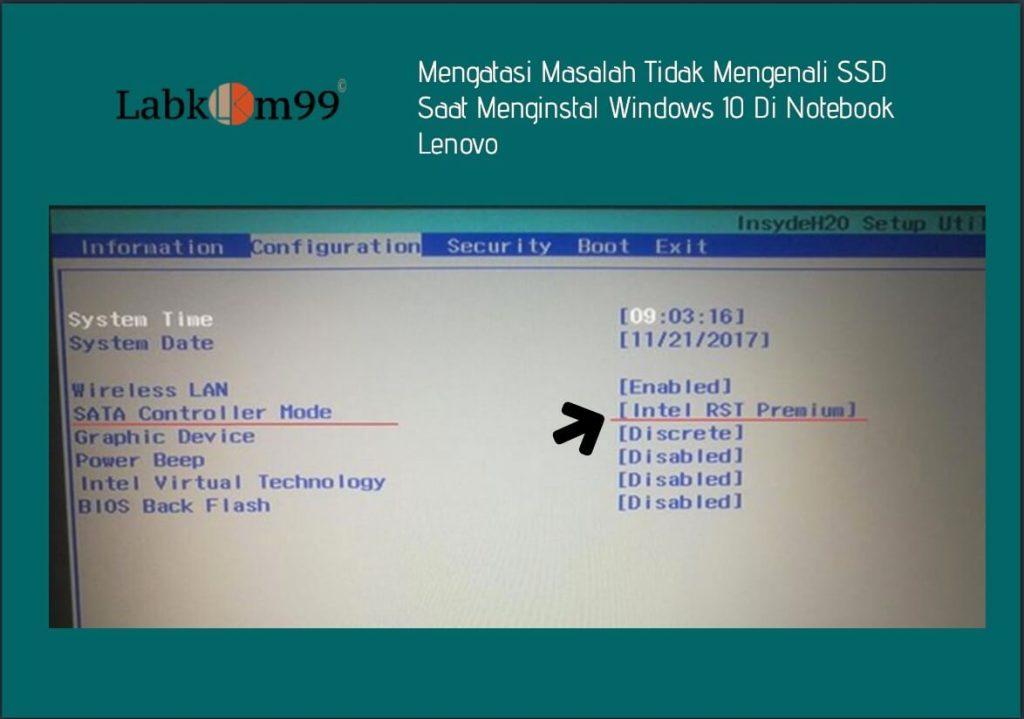 Mengatasi Masalah Tidak Mengenali SSD Saat Menginstal Windows 10