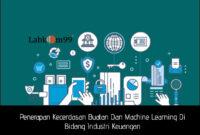Penerapan Kecerdasan Buatan Dan Machine Learning Di Bidang Industri Keuangan