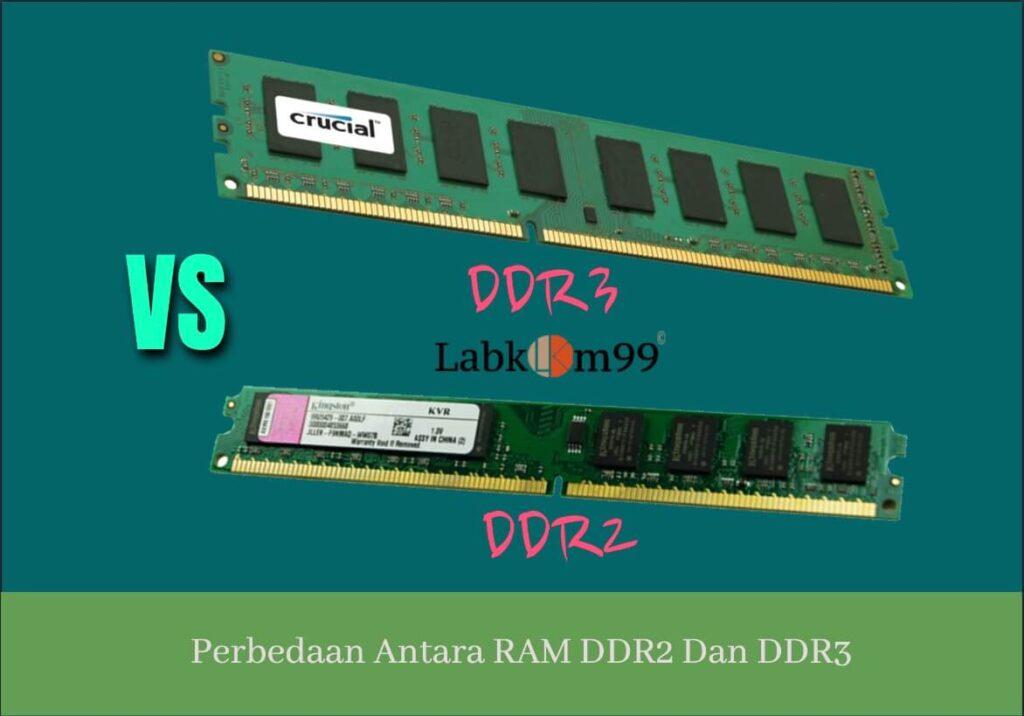 Perbedaan Antara RAM DDR2 Dan DDR3 Yang Jarang Di Ketahui