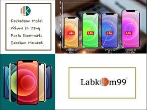 Perbedaan Model iPhone 12