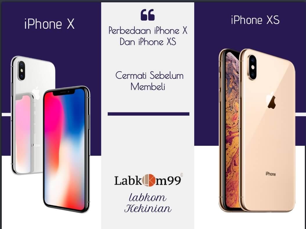 Perbedaan iPhone X Dan iPhone XS