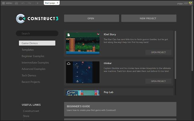 Aplikasi Pengembang Game Gratis