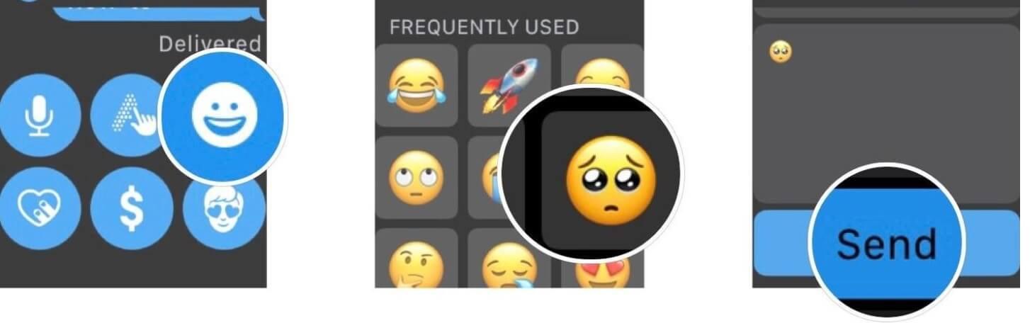 Cara Mengirim Emoji Di Apple Watch