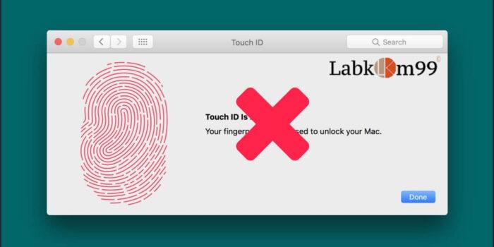 Mengatasi Touch ID MacBook Yang Error Dan Tidak Berfungsi