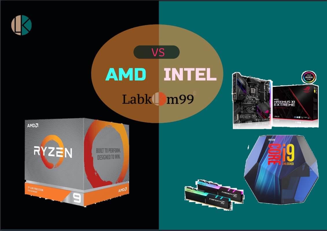 Perbandingan AMD Dan Intel