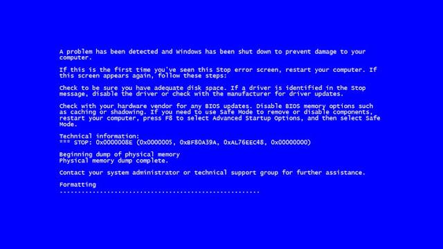Error Komputer Yang Sering Terjadi Dan Cara Memperbaiki