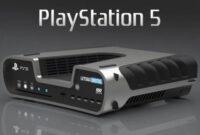 Hitam Dan Putih Desain Warna Sony PS5 Dengan Spesifikasi Terbaru