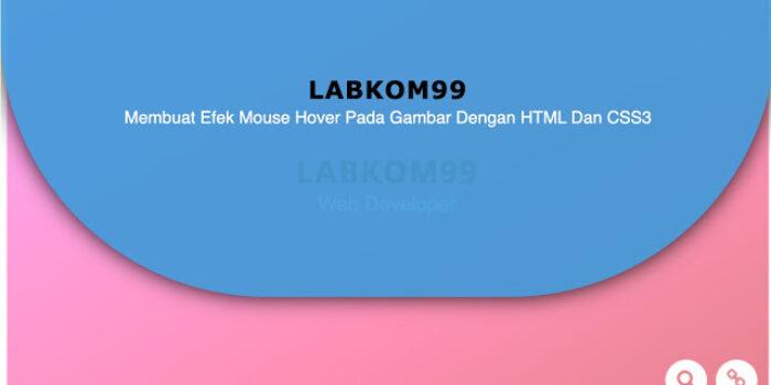 Membuat Efek Mouse Hover Pada Gambar Dengan HTML Dan CSS3