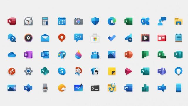 Pengguna Terpolarisasi Dengan Ikon Baru Windows 10