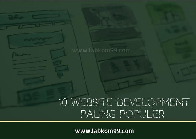 10 Website Development Paling Populer Yang Harus Dipelajari