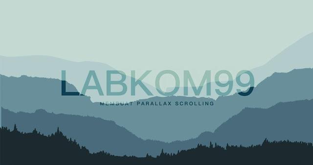 Membuat Parallax Scrolling Dengan HTML CSS SVG Dan JQuery