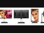Monitor AOC U27U2D 4K HD Dan Port Type-C Siap Untuk Desain Dan Main Game
