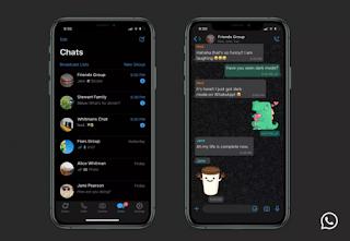 Mode Gelap WhatsApp Akhirnya Dirilis Dan Siap Digunakan