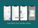 Cara Mengatur Dual SIM iPhone XS XS Max XR