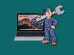 Membersihkan Debu Di MacBook Atau iMac
