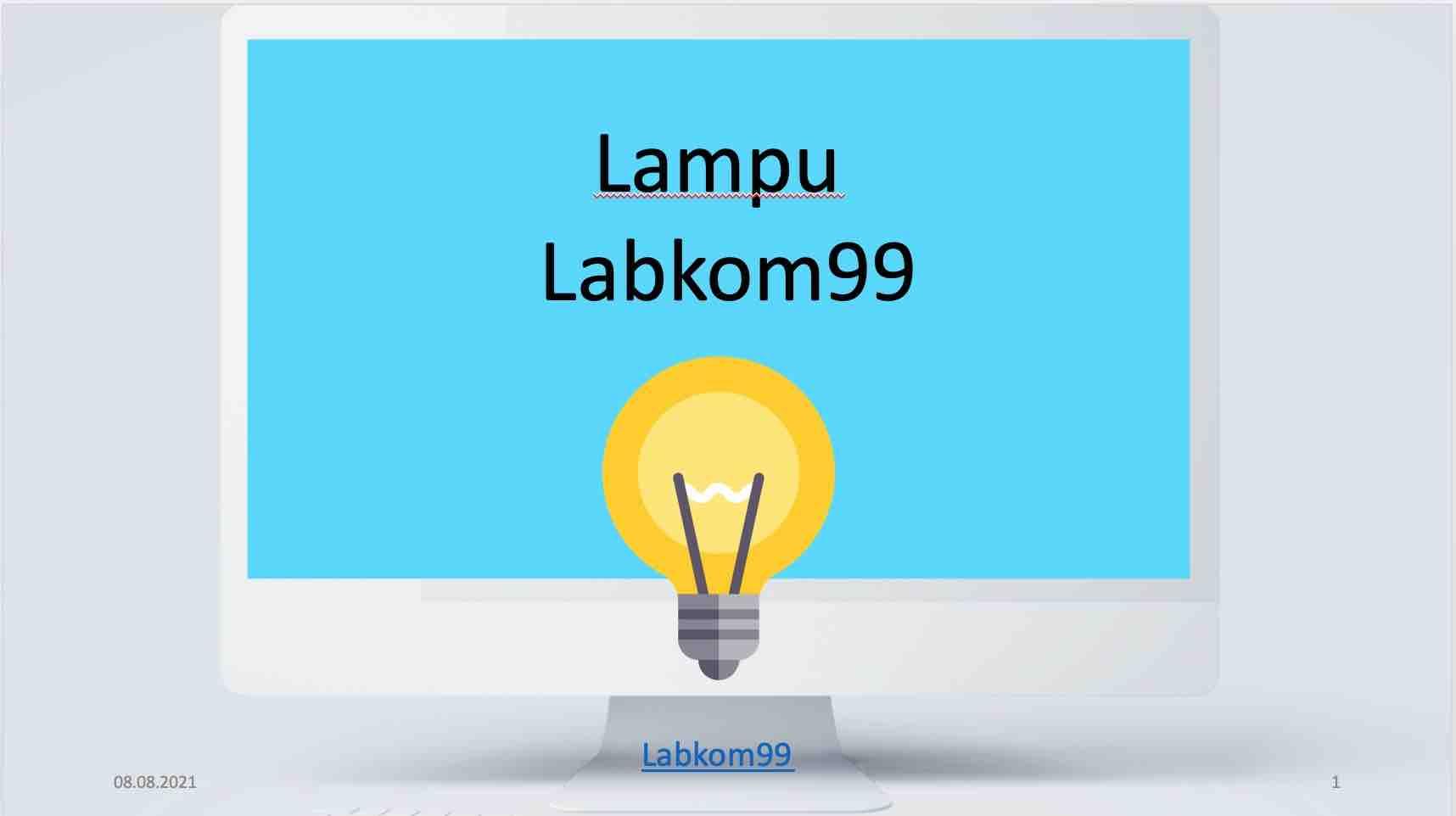 Lampu - Labkom99
