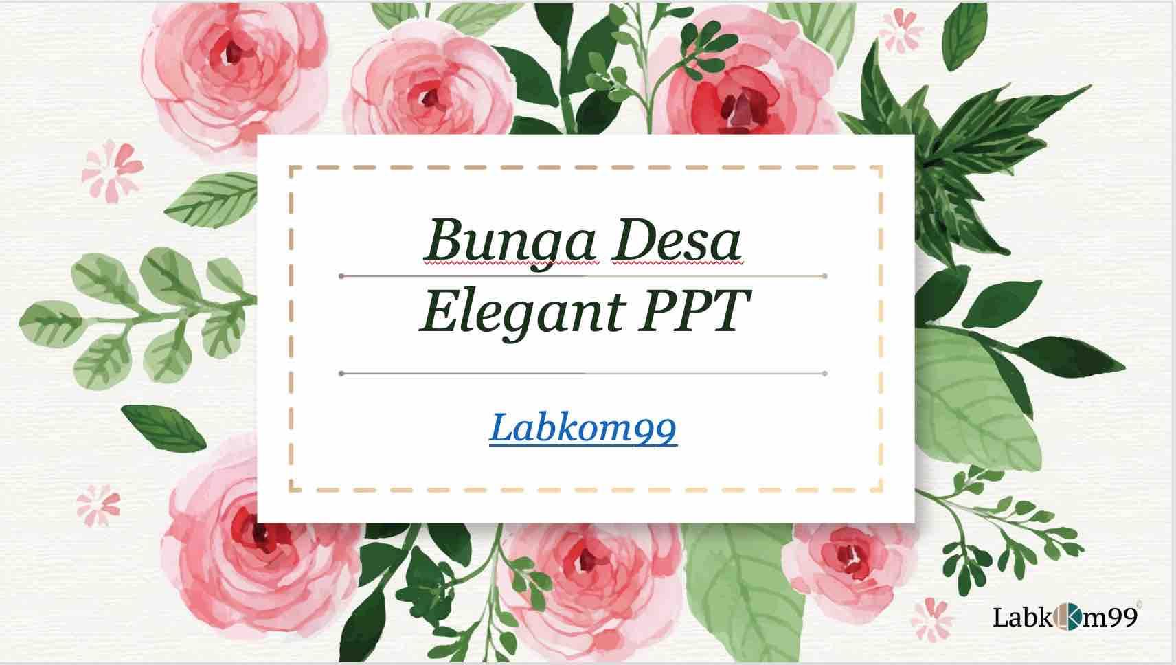 Bunga - Labkom99